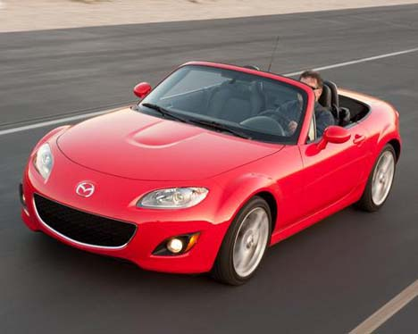 mazda cabrio mx 5 foto galerisi. Black Bedroom Furniture Sets. Home Design Ideas
