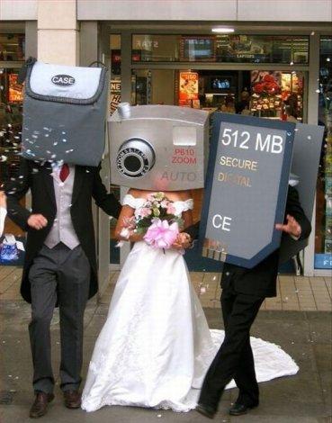 En tuhaf düğün fotoğrafları 1