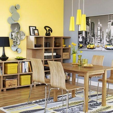 Dekorasyonda sarı renk nasıl kullanılır 22