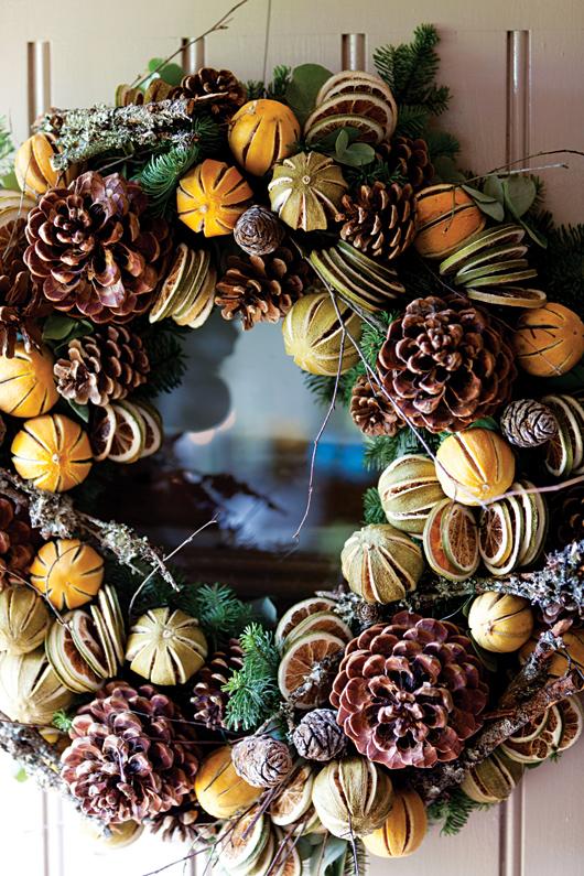 Kurutulmuş meyvelerle dekoratif fikirler 3
