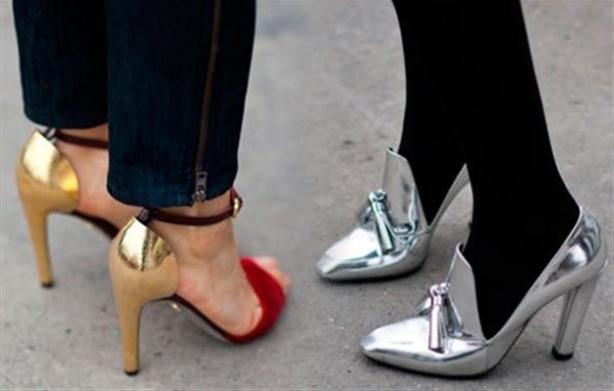 Yeni trend: Metalik ayakkabılar 1