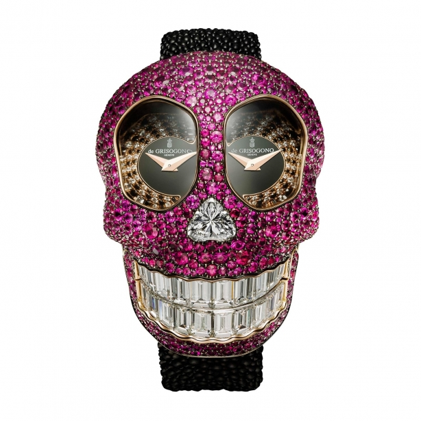 Grisogono'dan çılgın saat: Crazy Skull 1