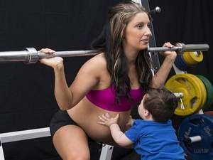 33 haftalık hamile ama...