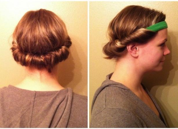Maşasız dalgalı saçlar için 10 yöntem 1