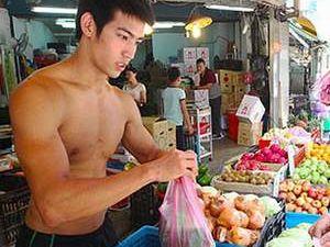 Tayland'ın fenomen manavı