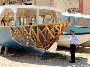 Denizi olmayan Gaziantep'e tersane kurdu