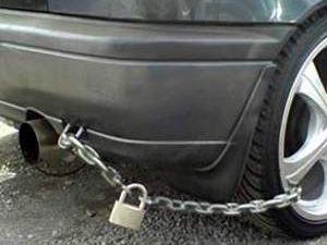 Araba hırsızlarına karşı...