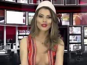 Arnavutluk'u karıştıran spiker