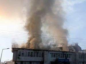 PKK'dan kütüphaneye bomba