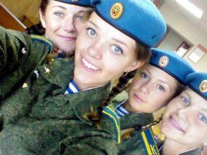 Rusya'da kadın polisleri!
