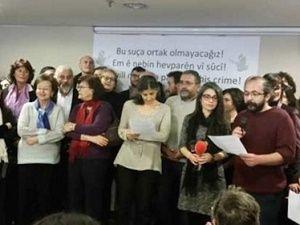 PKK sevici akademisyenlere edebiyatçılardan destek