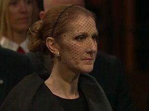 Celine Dion'dan ölen eşine son bakış