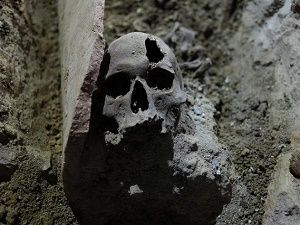 İstiklal Caddesi'nin altı Roma mezarlığı !