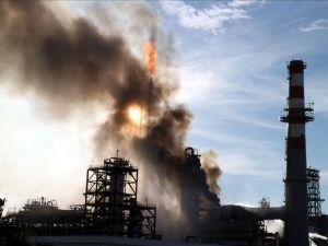 Tüpraş İzmit Rafinerisi'nde yangın
