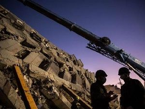 Tayvan depreminde mucize kurtuluş
