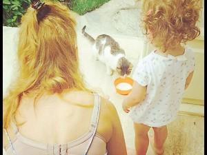 Meryem Uzerli'nin kızı Lara 2 yaşında