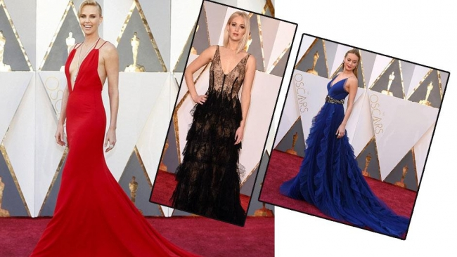 88. Oscar Töreni'nden kırmızı halı fotoğrafları 1