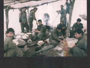 Teröristlerin gizli çekilmiş Kandil fotoğrafları