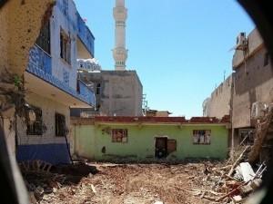 Nusaybin'de Çatışma Anı Kamerada