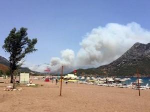 Antalya'da yangın Adrasan'a sıçradı !