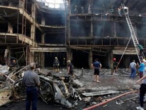 Bağdat'ta dehşet veren iki patlama !