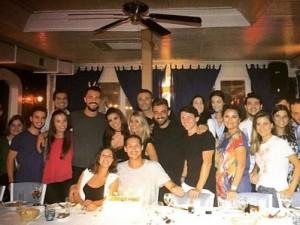 İrem Derici - Lider Şahin çifti doğum günü partisinde