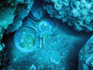 Antalya'daki batıktan 12'nci yüzyıl yemek tabağı