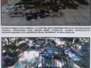 Bitlis'te cephanelik bulundu !