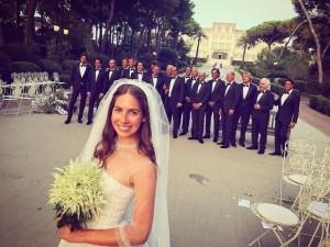 5 milyon dolarlık düğünden kareler