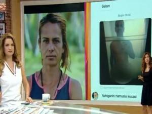 Survivor Nagihan'dan çıplak fotoğraf açıklaması