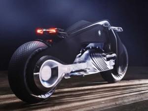 BMW'den devrilmeyen motosiklet: Motorrad Vision Next 100