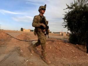 Musul'daki ABD askerleri ilk kez görüntülendi