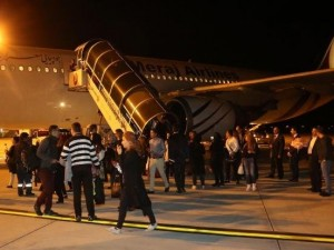 Denizli'ye ilk charter uçağı İran'dan