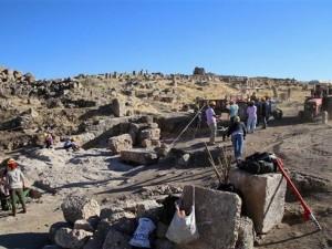 Bin 500 yıllık sığınak ortaya çıkarıldı