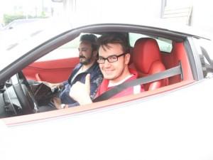 ''Emanet'' dediği Ferrari kendisinin çıktı !