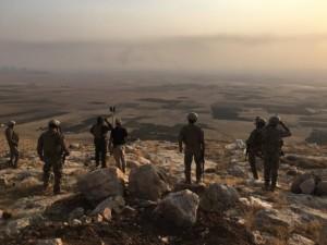 Başika'daki Türk askerleri görüntülendi