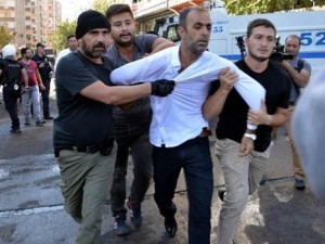Diyarbakır'da ''Kışanak'' gerginliği: 25 gözalt