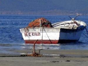 Çanakkale'de deniz 10 metre çekildi