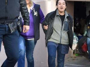 Kadın teröristler adliyeye sevk edildi