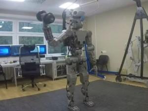 Rus robot FEDOR uzayda görev alacak