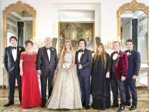 Ali Ağaoğlu kızını evlendirdi