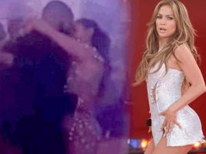 Drake ile Jennifer Lopez dudak dudağa