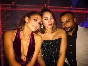 Jennifer Lopez ile Drake dudak dudağa