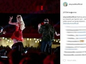 Aleyna Tilki'nin 'mini' konseri olay oldu