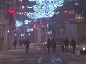 İstanbul'da kar yağışı gece de etkisini gösterdi