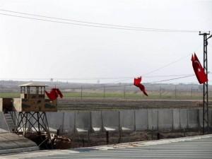 Sınırda PYD önlemi ! Duvar örülüyor