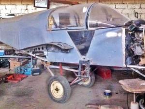 DEAŞ'ın ''savaş uçağı'' bulundu !