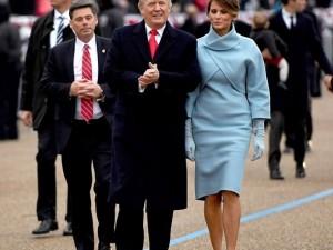Tüm gözler Melania Trump'ın üzerindeydi