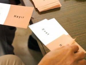 Referandumdan önce ilk anket !