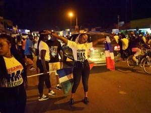 Gambiyalılar sokaklara döküldü